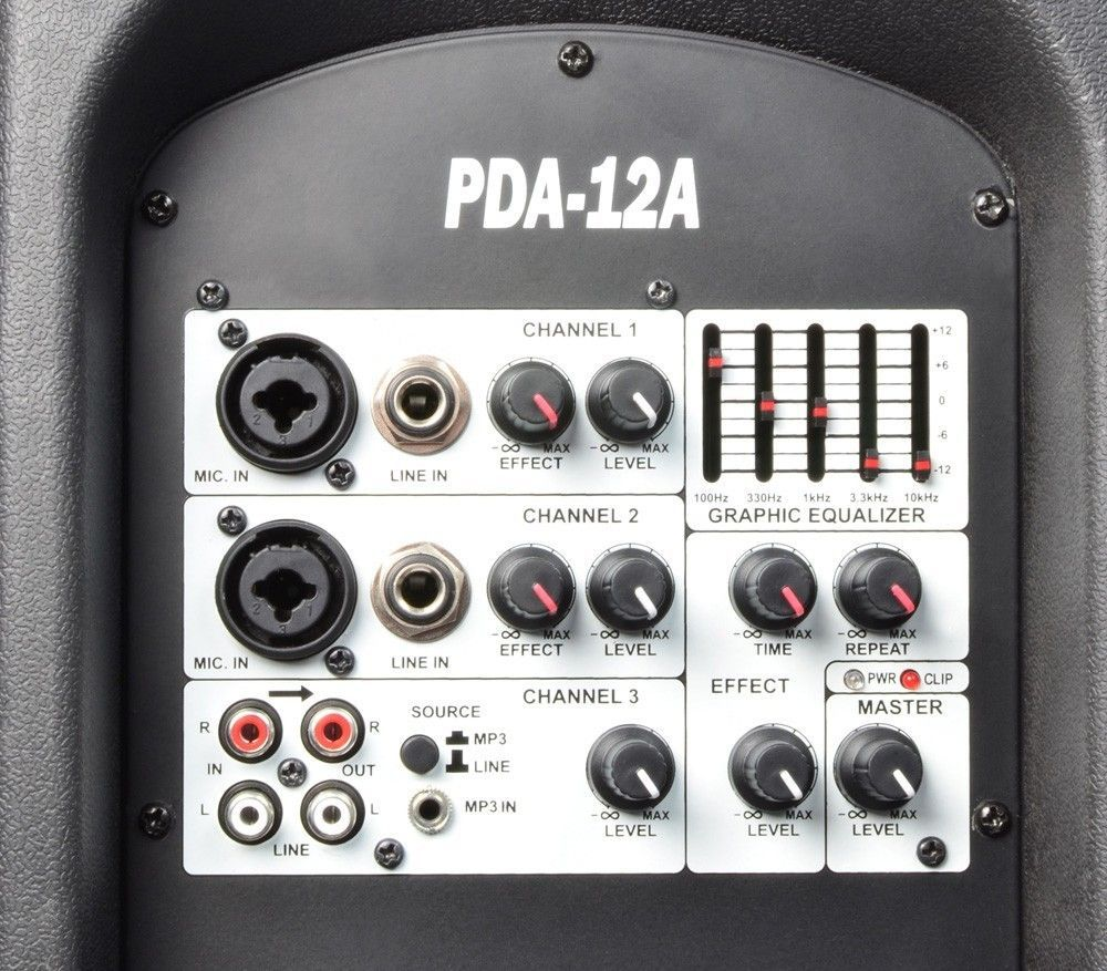 "Power Dynamics PDA-12A Actieve speaker 12"" 1000 watt thumbnail"