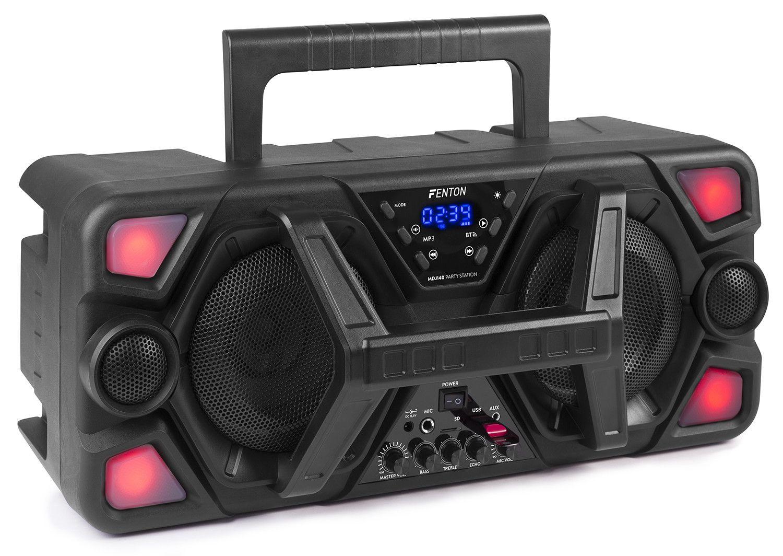 Dagaanbieding - Fenton MDJ140 Partystation 200W op accu met Bluetooth en microfoon dagelijkse koopjes