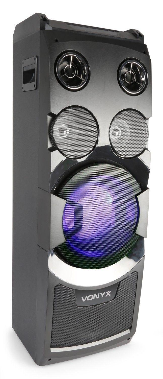 Dagaanbieding: Vonyx PLAY1000 actieve 400W 8″ party speaker met bluetooth
