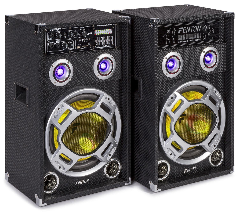 Afbeelding van 2e keus - Fenton KA-12 actieve karaoke speakerset 1200W met Bluetooth ...