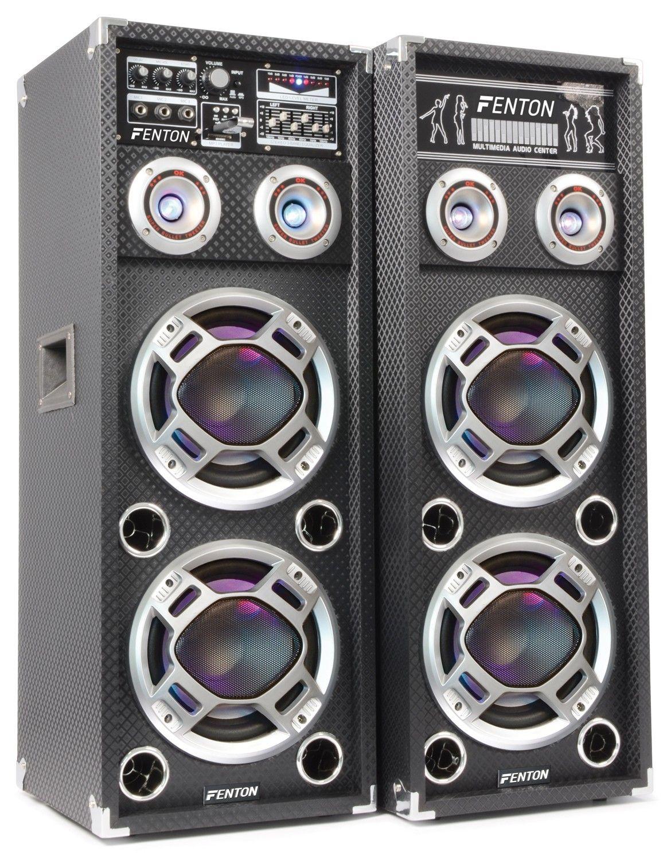Afbeelding van 2e keus - Fenton KA-26 actieve speakers 800W USB LED...