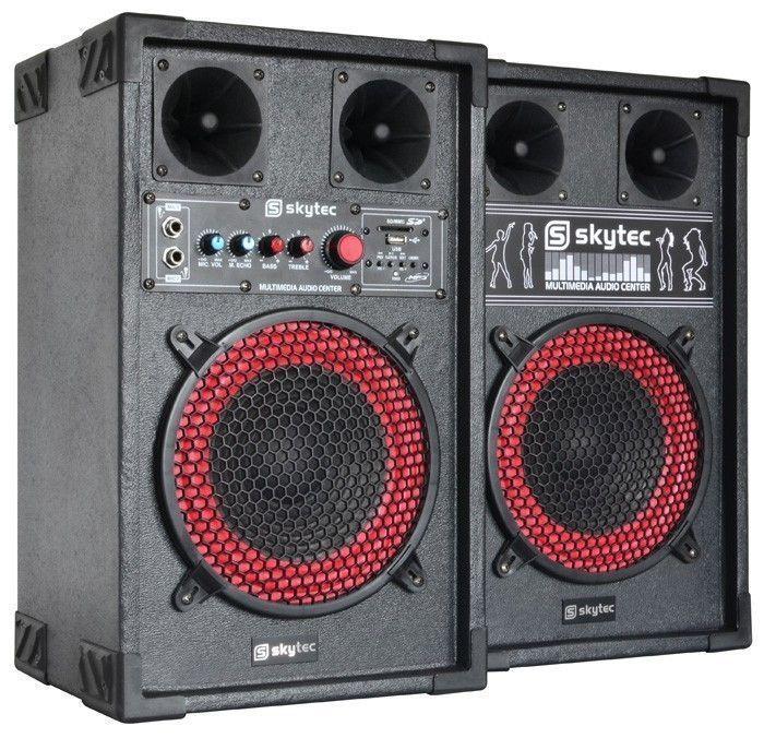 Skytec Spb8 Actieve Pa Speakerset 8 400w Skytec kopen