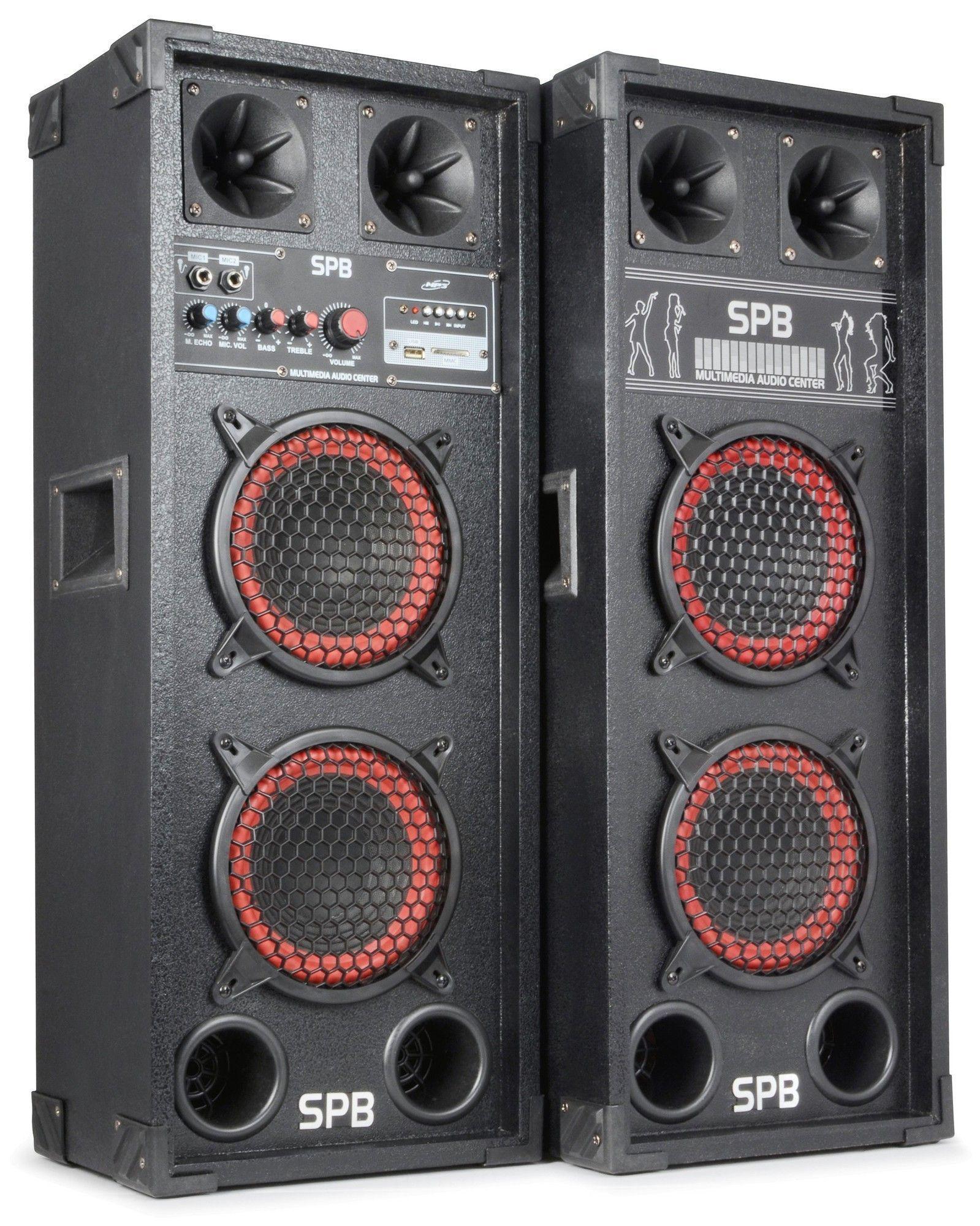 Bstock Skytec Spb26 Actieve Pa Speakerset 2x 65 600w Skytec kopen
