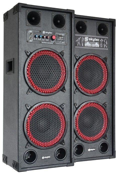 Bstock Skytec Spb210 Actieve Pa Speakerset 2x 10 1200w Skytec kopen