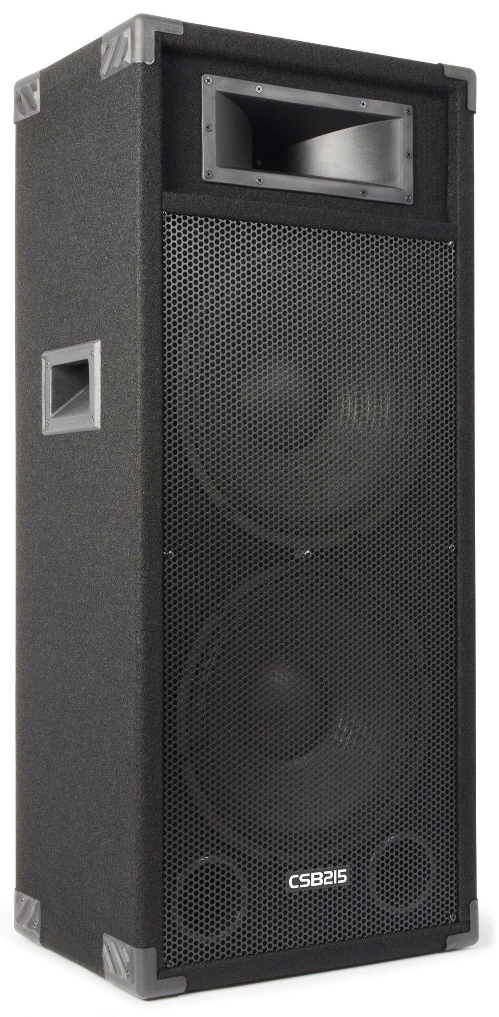 "SkyTec CSB215 PA actieve speaker 2x 15"" - 1600W thumbnail"