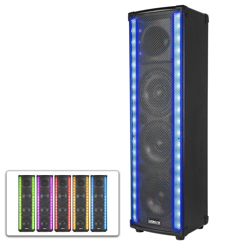 Afbeelding van 2e keus - Vonyx LM80 LightMotion Bluetooth speaker met LED sfeerlicht...