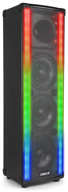 Dagaanbieding: Vonyx LM65 LightMotion actieve 400W speaker met LED lichteffect