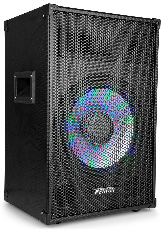 "Afbeelding van Fenton TL12LED passieve 600W 12"" speaker met LEDs..."