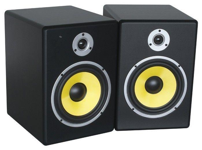 """Afbeelding van Power Dynamics PDSM-8 Actieve 8"""" Studio Monitor Speakerset 240W..."""