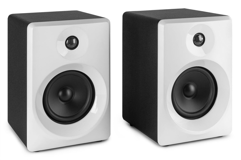 Vonyx SMN40W actieve studio monitor speakers 100W - Wit