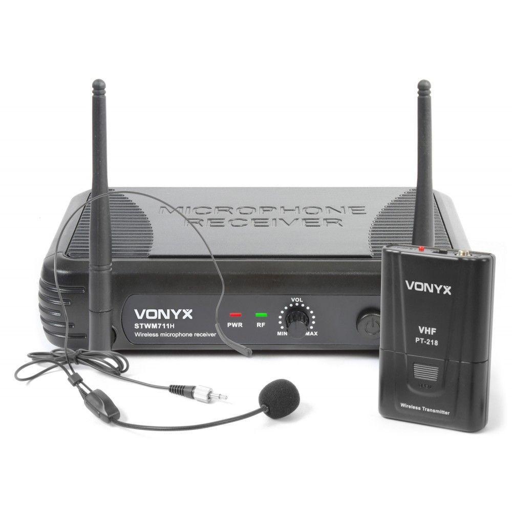 Afbeelding van 2e keus - Vonyx STWM711H Draadloze headset microfoon VHF...