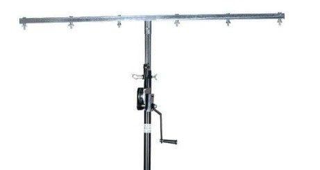 Afbeelding van BeamZ WLS35 Lichtstandaard 4.5M met lier en T-bar...