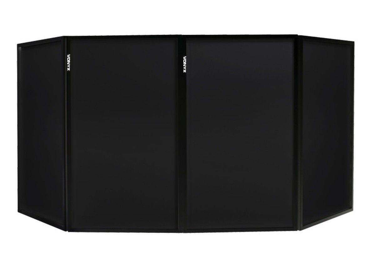 Vonyx Lycra doekenset voor Vonyx DB2 / DB2B DJ Booths - Zwart