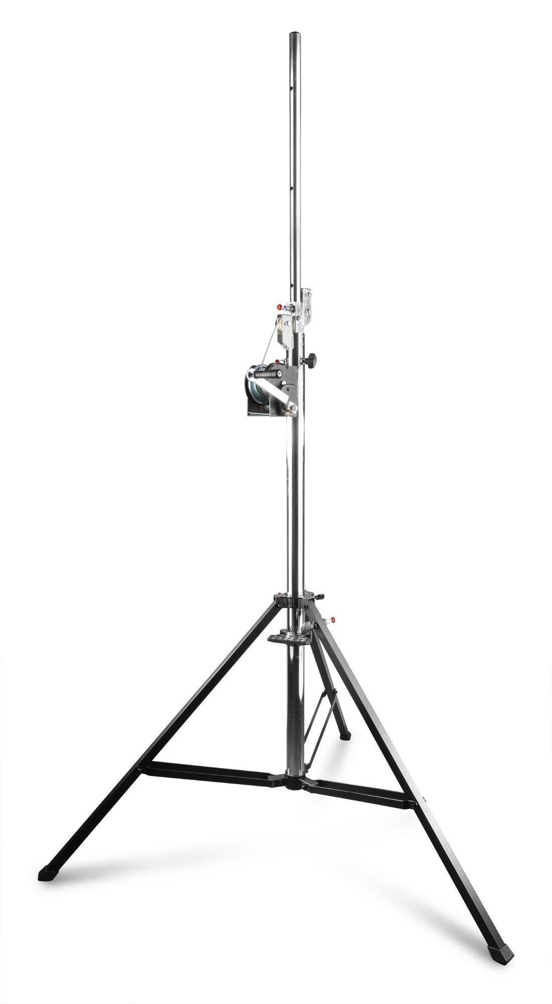 2e keus - BeamZ WLS80 wind-up lichtstandaard - Hoogte 410cm max.