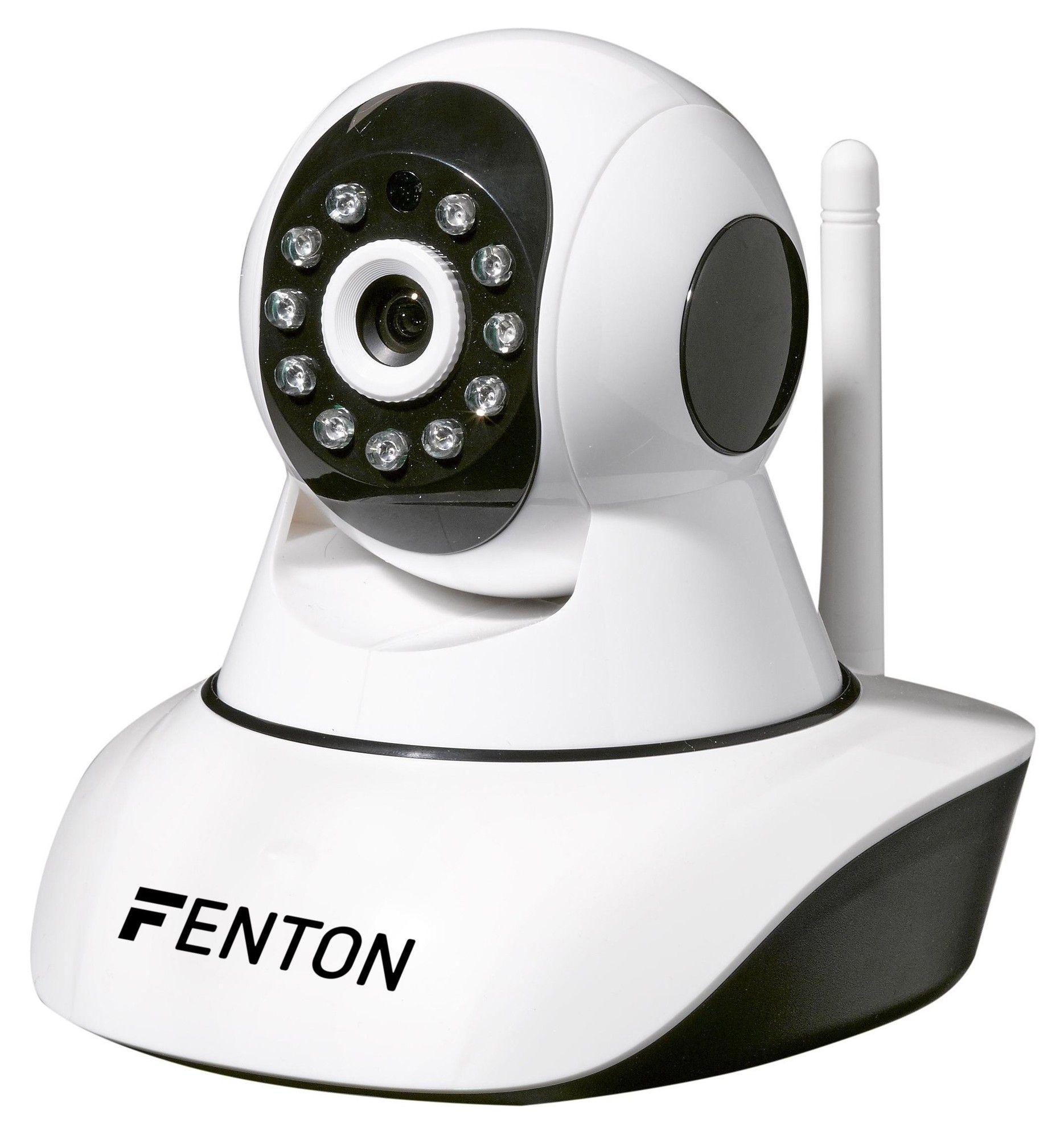 Afbeelding van Fenton HD IP camera met IR LED\'s en beweging pan/tilt...