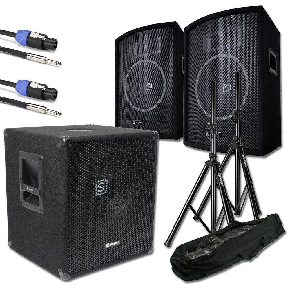 SkyTec 2.1 complete live set 1100 watt