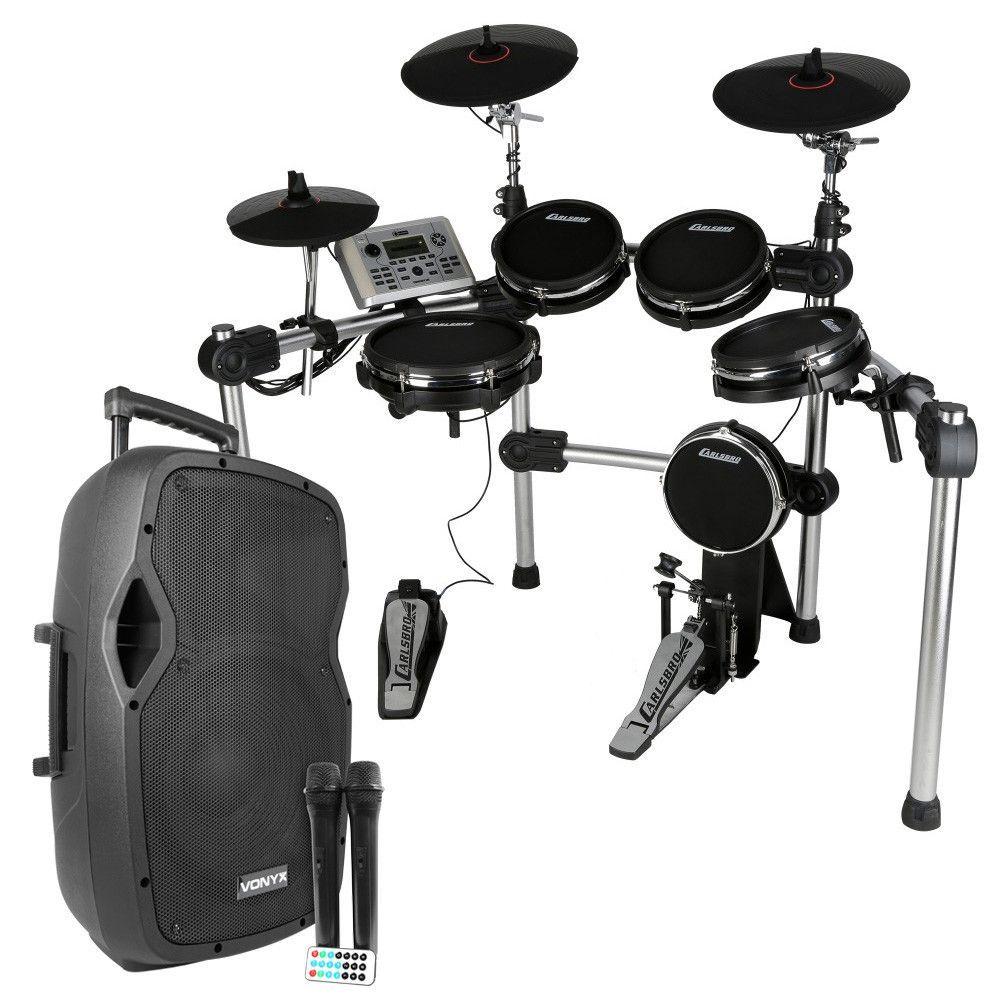 Afbeelding van Carlsbro CSD500 mobiele mesh head drumset met speaker...