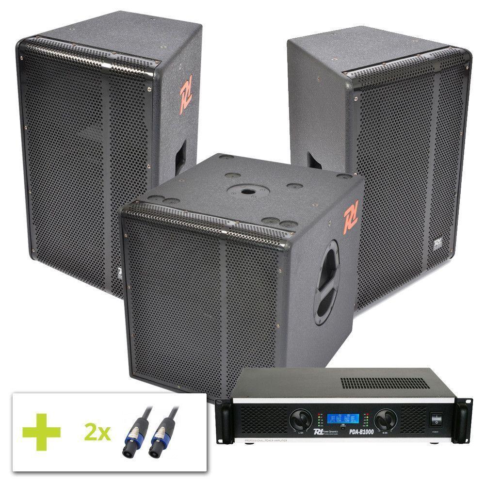 Power Dynamics professionele soundset 1600W