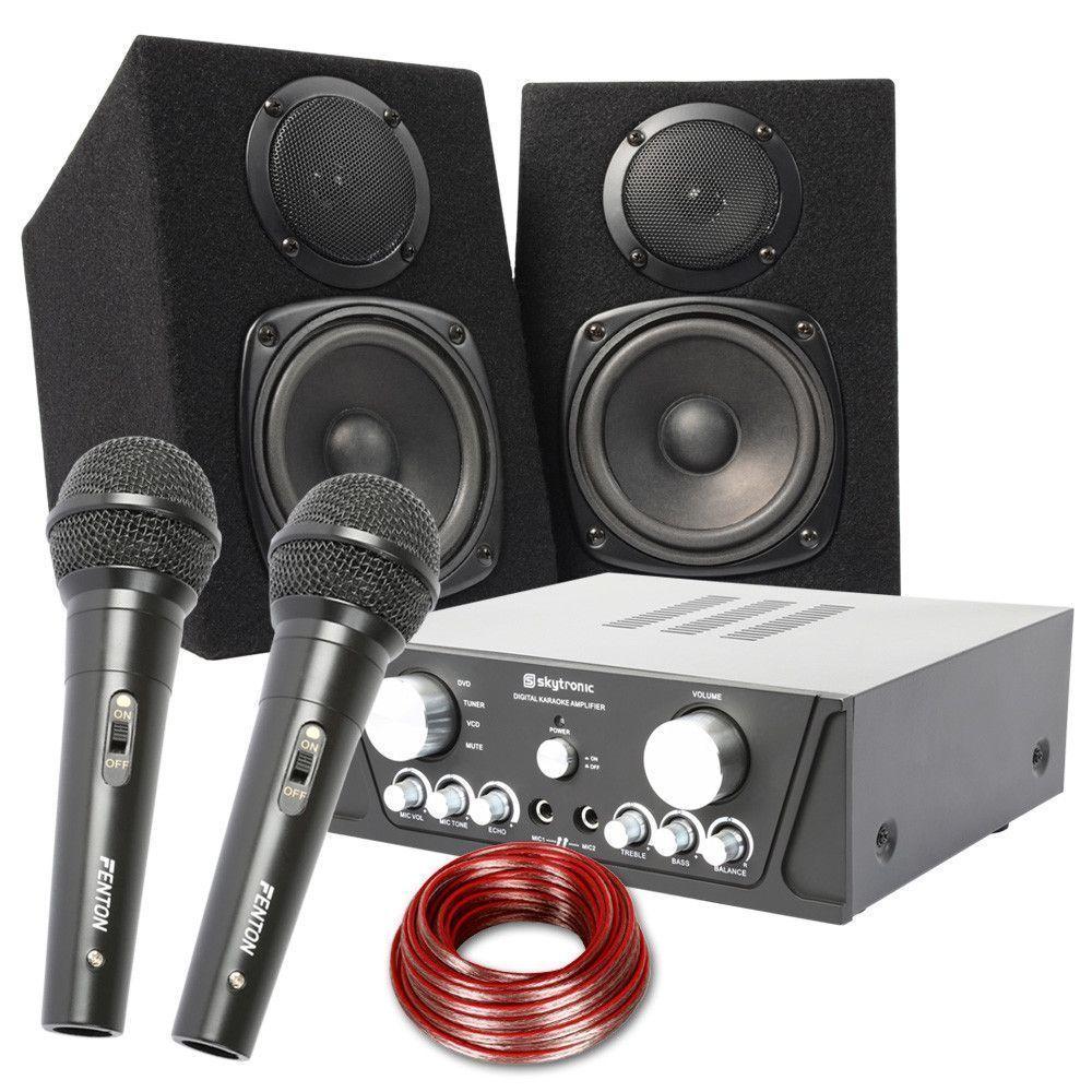 """Afbeelding van Fenton 200W Karaoke Set """"Maxi Capri""""..."""