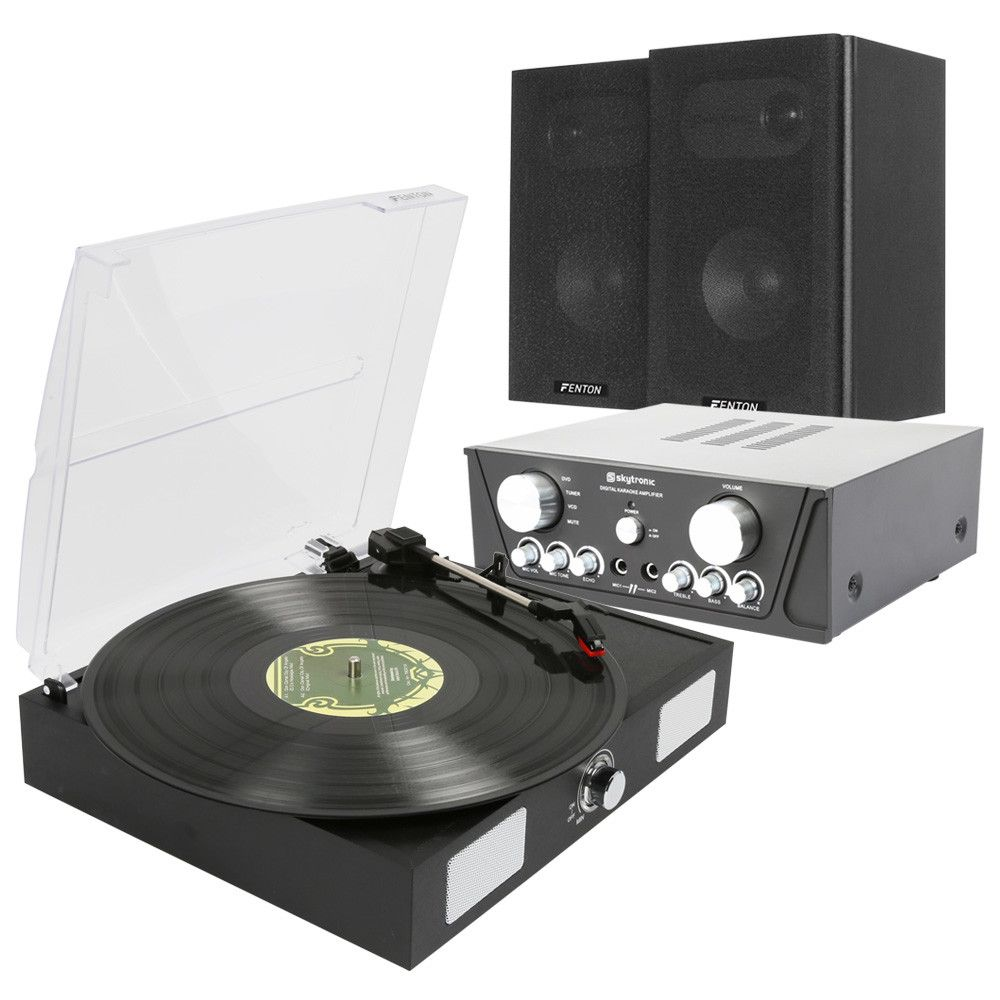 Afbeelding van Fenton Complete Stereo installatie met RP108B Platenspeler...