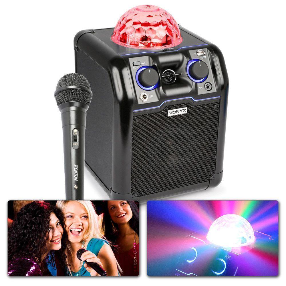 Afbeelding van Vonyx SBS50B karaoke set met echo en Bluetooth...
