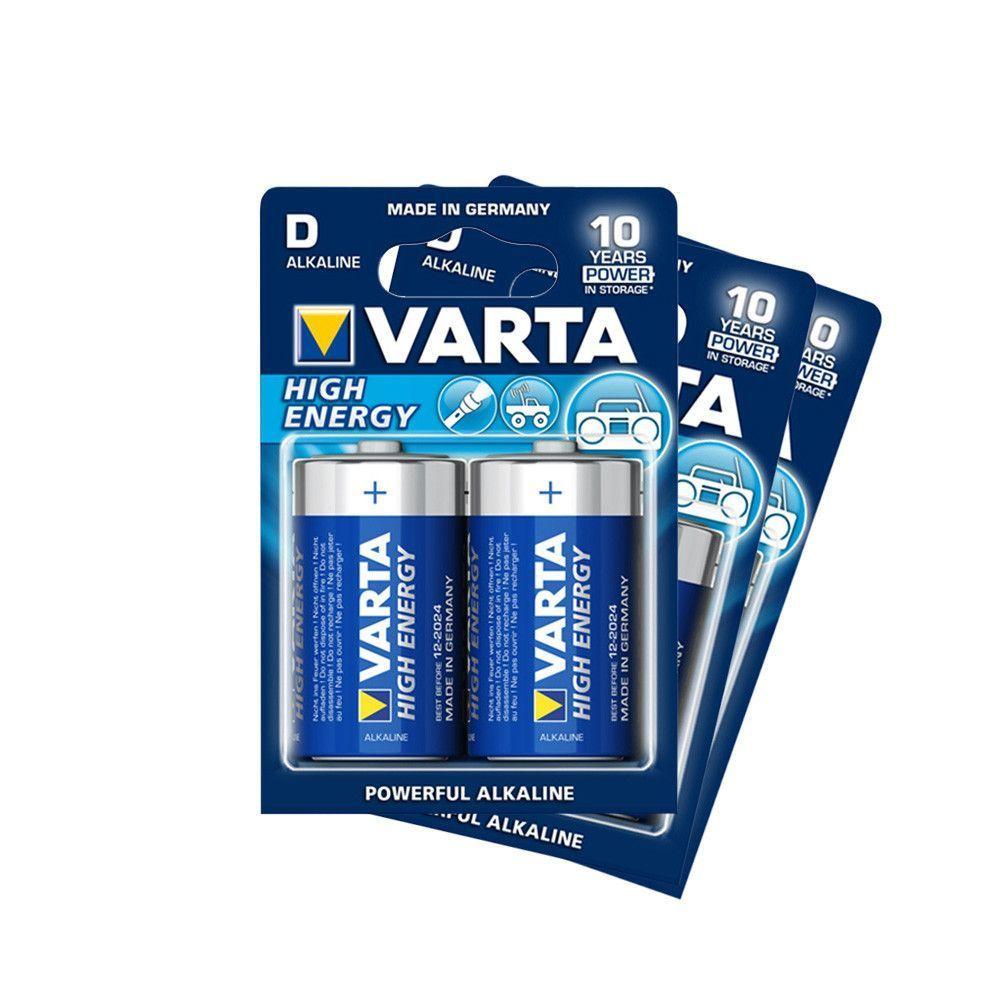 Afbeelding van Varta D batterijen (6x) voor Vonyx MEG045 megafoon...