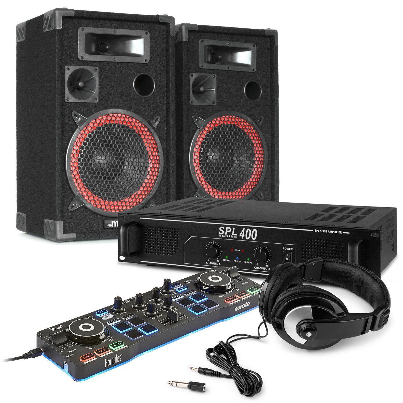 Hercules Starlight DJ controller 500W DJ starterspakket