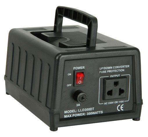 Omvormer - Converter 230V-110V, 300VA
