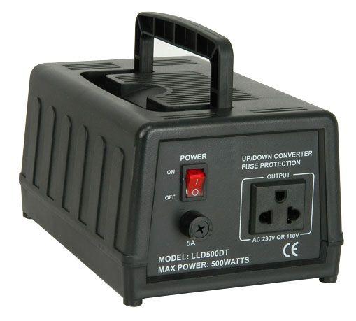 Omvormer 230V naar 110V 500 Watt Techtube Pro