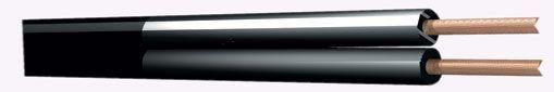 Luidsprekerkabel 0.75mm 6.0A - Wit 100M