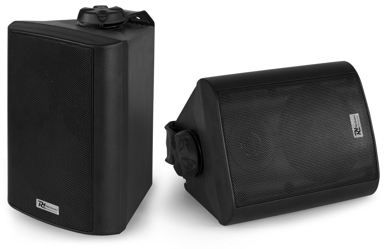 Power Dynamics BC40V Zwarte 100W speakerset 100V / 8 Ohm, ook voor buiten