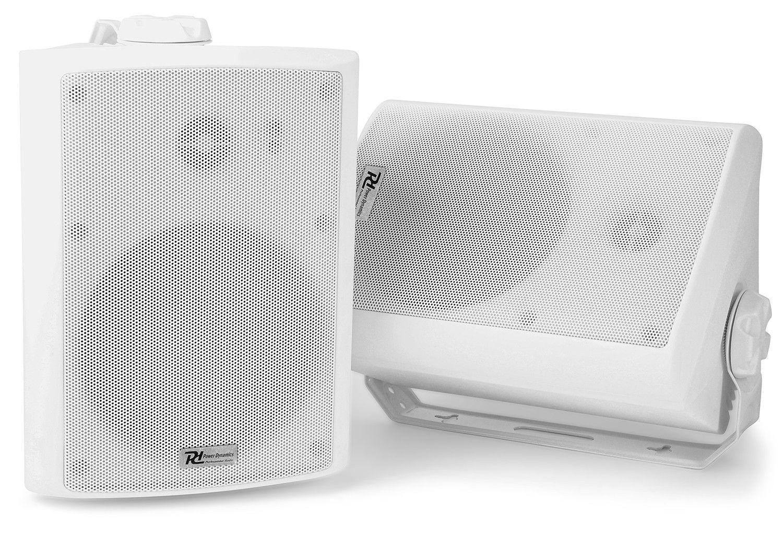"""Power Dynamics Bluetooth en WiFi WS40A speakerset 200W 4"""" wit"""
