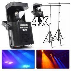 BeamZ Intiscan 300 DMX lichtset incl. statieven