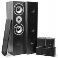 Fenton Thuis bioscoop speaker systeem - Zwart - 5 delig