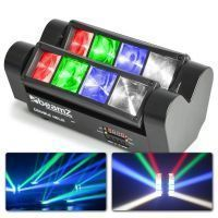 BeamZ MHL820 Double Helix RGB LED lichteffect 8x 3W