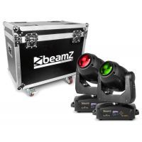 2e keus - BeamZ Set van 2 IGNITE180B LED Moving Heads in flightcase