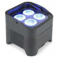 2e keus - BeamZ BBP94 Uplight PAR spot op accu met 4x 10W LEDs
