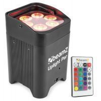 BeamZ BBP96 Uplight PAR spot op accu met 6x 12W LEDs