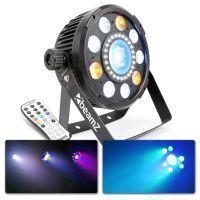 BeamZ BX94 4-in-1 LED PAR met 20W COB LED en 24 LED's strobe