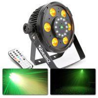 2e keus - BeamZ BX100 LED PAR met ingebouwde laser en stroboscoop