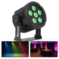 BeamZ SlimPar30 - Krachtige compacte LED Par spot 6x 3W LED's