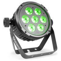 BeamZ BT270 LED flatpar met 7x 6W RGBW LED's incl. remote
