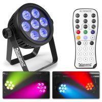 2e keus - BeamZ BAC500 aluminium LED ProPar met 7x 14W LED's