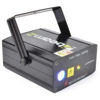 2e keus - BeamZ LS-FFLED10 Laser Rood Groen met Gobo en LED