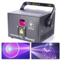 2e keus - BeamZ Phantom 750 pure diode analoge laser RGB 30 kpps ILDA + DMX