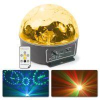 BeamZ Mini Star Ball met 6x 3W RGBWAP LED's en afstandsbediening