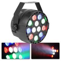 MAX PartyPar met 12x 1W RGBW LED's en DMX