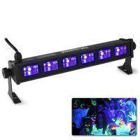 BeamZ BUV63 compacte LED Blacklight BAR met 6x 3W LED's