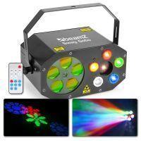 2e keus - BeamZ Sway Gobo lichteffect met 5 gobo's & LED's en laser