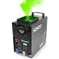 BeamZ S2500 Rookmachine met LED effect 24x10W leds